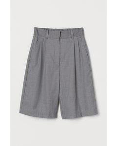 City-Shorts Graumeliert