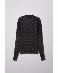 Tess Knit Top Black