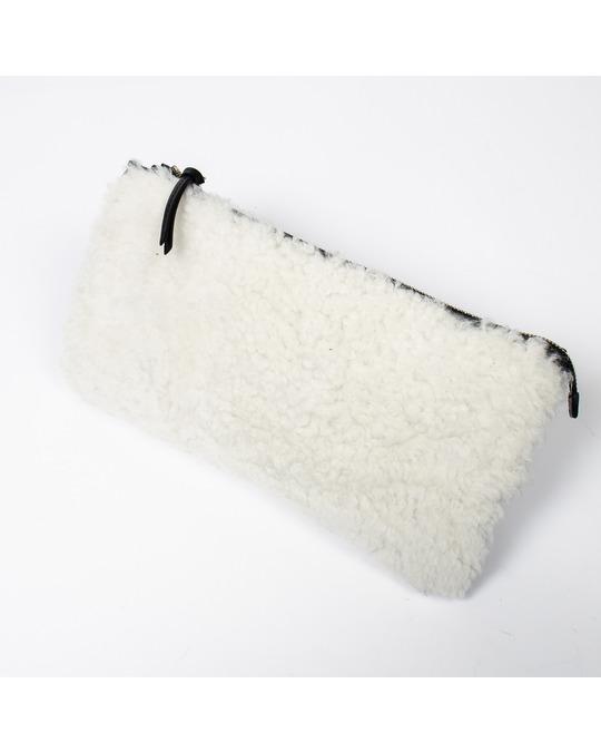 Balenciaga Mouton Clutch