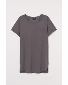 Lang T-shirt Grijs