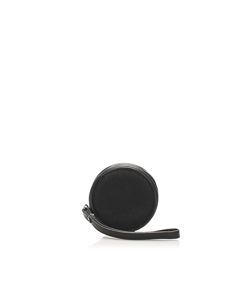 Celine C Macadam Canvas Coin Pouch Black