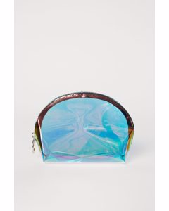 Makeup-väska Lila/holografisk