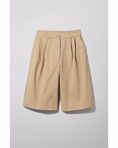 Nori Chinos Shorts Beige