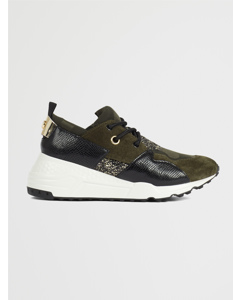 Cliff Sneaker A Black/olive