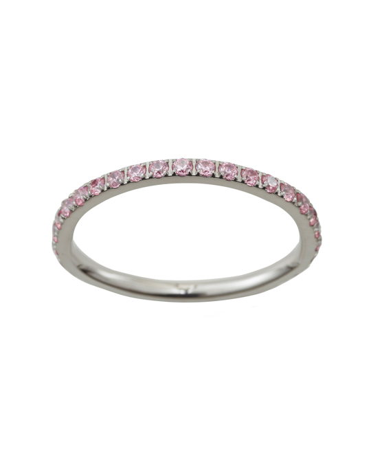 Edblad Glow Ring Micro Bubble Gum Steel
