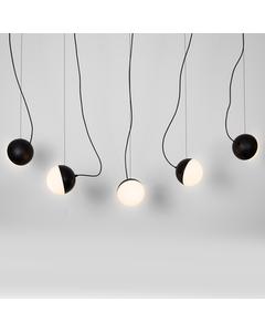 Halve Maan Kleine Hanglamp - Mat Zwart