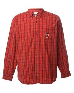 1980s Disney Checked Shirt