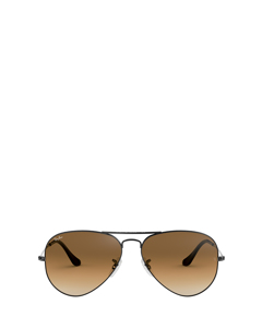 Rb3025 Gunmetal Zonnenbrillen
