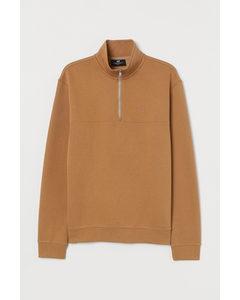 Sweatshirt Relaxed Fit Beige