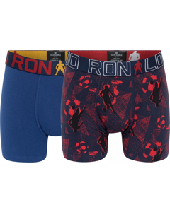 Cr7 Boy's Trunk 2-pack Dark Blue