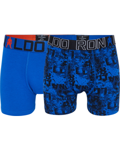 Cr7 Boy's Trunk 2-pack Blue