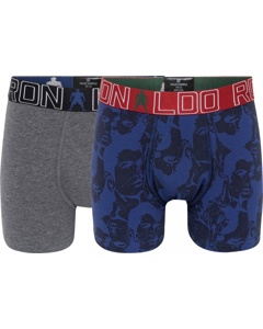 Cr7 Boy's Trunk 2-pack Grey