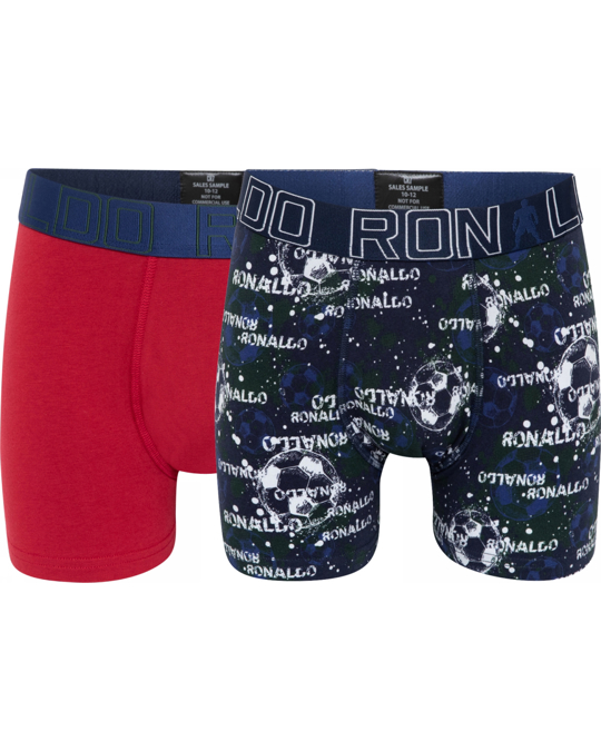 CR7 Cr7 Boy's Trunk 2-pack Red