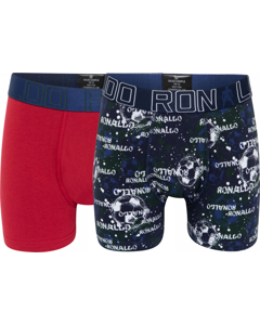 Cr7 Boy's Trunk 2-pack Red