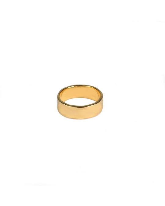 Syster P Kristine  Plain Ring Gold