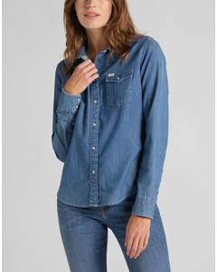 REGULAR WESTERN SHIRT BEYOND BLUE