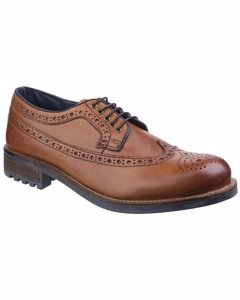 Cotswold Mens Poplar Brogue Dress Shoes