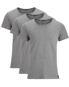 Björn Borg Centre Relaxed 3-pack Tee Grijs