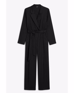 Blazer Jumpsuit Black
