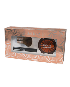 Gift set Bronzing Powder, Brush & Mascara Mini