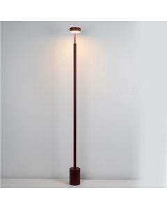 Piek Grote Lamp Voor Vloer - Bourgondisch Gelakt