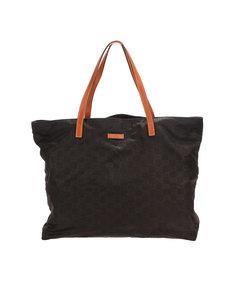 Gucci Gg Nylon Tote Bag Black