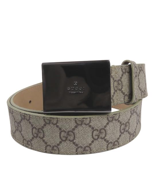 Gucci Gucci Gg Supreme Belt Brown