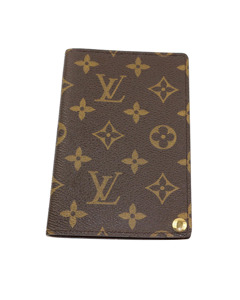 Louis Vuitton Monogram Card Case Brown