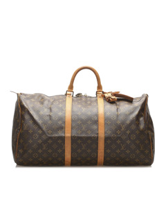 Louis Vuitton Monogram Keepall 55 Brown