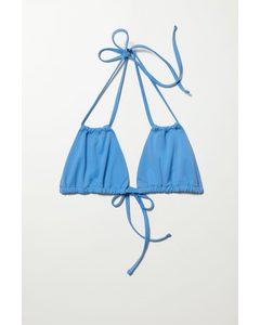 Breeze Bikini Top Blue