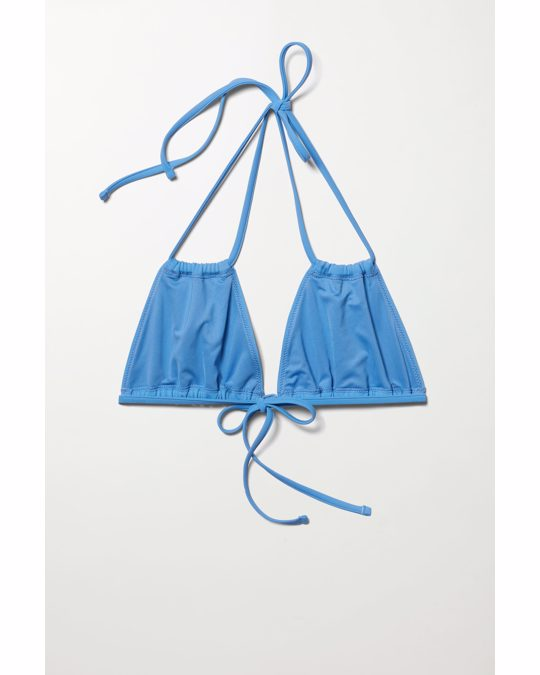 Weekday Breeze Bikini Top Blue