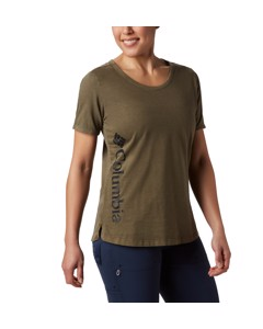 Csc™ W Pigment Tee Olive Green