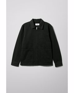 Camp Washed Jacket Black