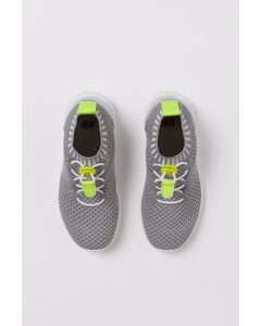 Formstickade Sneakers Ljusgrå