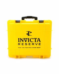 Invicta Watch Box Yellow - 15 Slot Dc15yel
