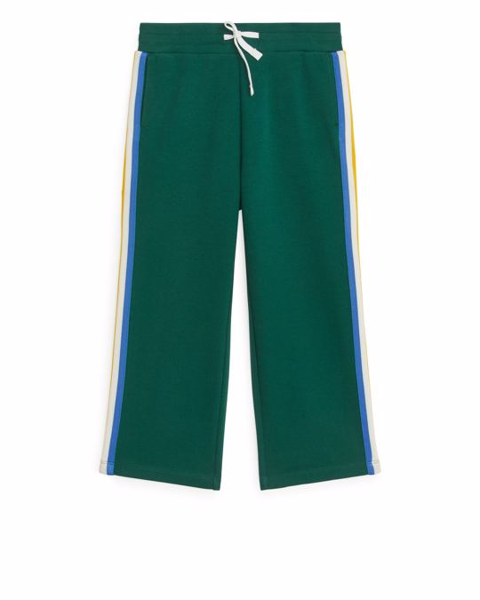 Arket Tracksuit Trousers Dark Green