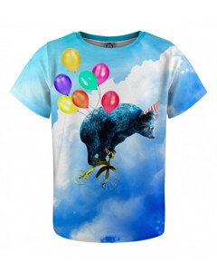Mr. Gugu & Miss Go Cloud Ride Kids T-shirt