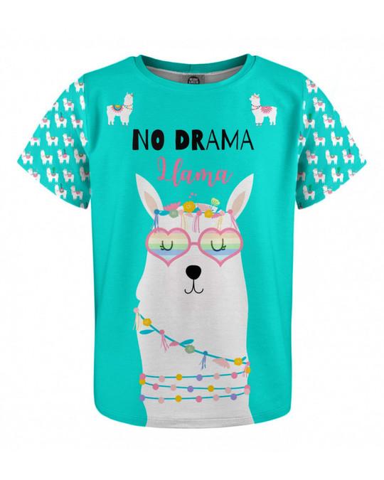 Mr. Gugu & Miss Go Mr. Gugu & Miss Go No Drama Llama Kids T-shirt