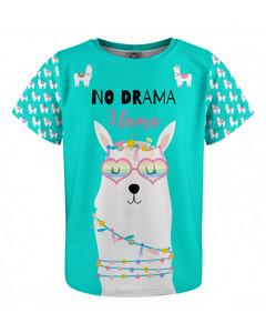 Mr. Gugu & Miss Go No Drama Llama Kids T-shirt