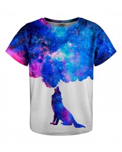 Mr. Gugu & Miss Go Howling To Galaxy Kids T-shirt