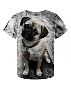 Mr. Gugu & Miss Go Pug Kids T-shirt