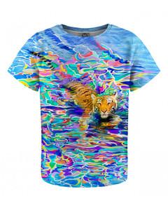 Mr. Gugu & Miss Go River Tiger Kids T-shirt