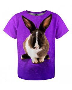 Mr. Gugu & Miss Go Violet Rabbit Kids T-shirt