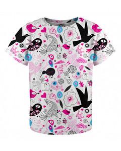 Mr. Gugu & Miss Go Sweet Birds Kids T-shirt