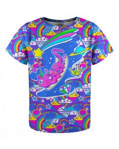Mr. Gugu & Miss Go Caticorn Kids T-shirt