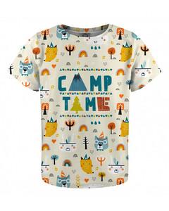 Mr. Gugu & Miss Go Camp Time Kids T-shirt