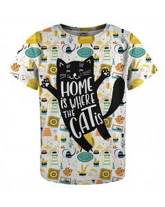 Mr. Gugu & Miss Go Home Cat Kids T-shirt