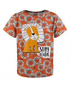 Mr. Gugu & Miss Go Stay Wild Kids T-shirt