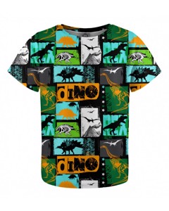 Mr. Gugu & Miss Go Dinosaurs Kids T-shirt