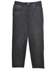 Calvin Klein Black Flared Jeans
